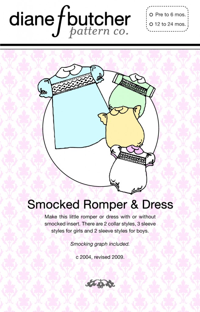 Smocking Patterns Smocked Romper Dress Pattern