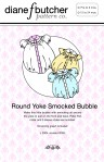 Round Yoke Smocked Bubble Pattern