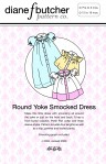 Round Yoke Smocked Dress Pattern